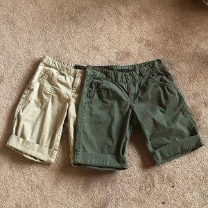 Calvin Klein Jean Shorts Lot Size 4